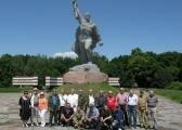 Велична споруда Меморіалу - Монумент Воїна.