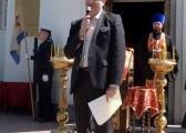 Митинг открыл председатель совета КВИТ Чудновец А.Н.
