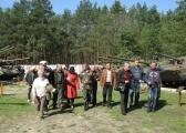 Село Пилява. Делегация товарищества по прибытии на мероприятия.